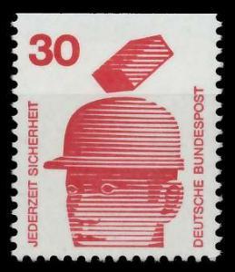 BRD DS UNFALLVERHÜTUNG Nr 698C postfrisch 926CE2
