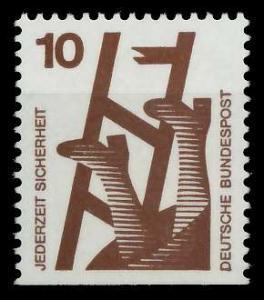 BRD DS UNFALLVERHÜTUNG Nr 695D postfrisch 926CEE