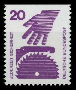 BRD DS UNFALLVERHÜTUNG Nr 696C postfrisch 926CF6