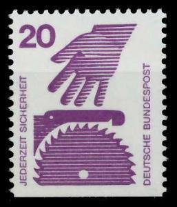 BRD DS UNFALLVERHÜTUNG Nr 696D postfrisch 926CFE