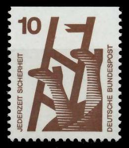 BRD DS UNFALLVERHÜTUNG Nr 695C postfrisch 926D02