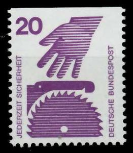 BRD DS UNFALLVERHÜTUNG Nr 696C postfrisch 926D16