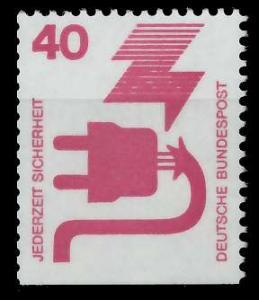 BRD DS UNFALLVERHÜTUNG Nr 699D postfrisch 926D26