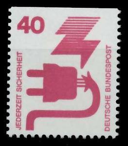 BRD DS UNFALLVERHÜTUNG Nr 699C postfrisch 926D2A