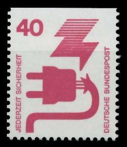 BRD DS UNFALLVERHÜTUNG Nr 699C postfrisch 926D3A