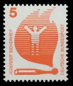 BRD DS UNFALLVERHÜTUNG Nr 694A postfrisch S982916
