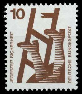 BRD DS UNFALLVERHÜTUNG Nr 695A postfrisch S98291E