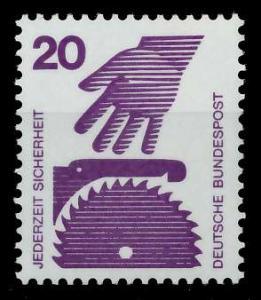 BRD DS UNFALLVERHÜTUNG Nr 696A postfrisch S98292E