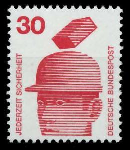 BRD DS UNFALLVERHÜTUNG Nr 698A postfrisch S982962