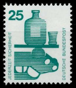 BRD DS UNFALLVERHÜTUNG Nr 697A postfrisch S98294E