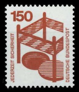 BRD DS UNFALLVERHÜTUNG Nr 703A postfrisch S9829BE