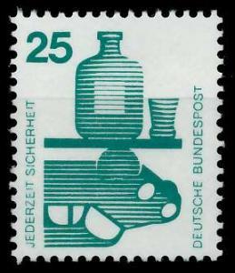 BRD DS UNFALLVERHÜTUNG Nr 697A postfrisch S98293E