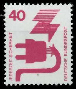 BRD DS UNFALLVERHÜTUNG Nr 699A postfrisch S982976