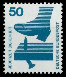 BRD DS UNFALLVERHÜTUNG Nr 700A postfrisch S98297E