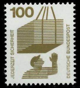 BRD DS UNFALLVERHÜTUNG Nr 702A postfrisch S98299E
