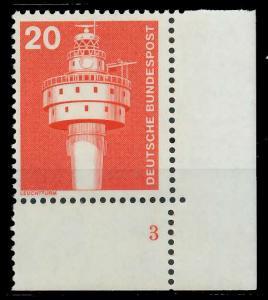 BRD DS INDUSTRIE U. TECHNIK Nr 848 postfrisch FORMNUMME 92F8EE