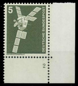 BRD DS INDUSTRIE U. TECHNIK Nr 846 postfrisch FORMNUMME 92F912
