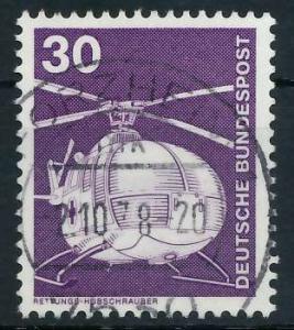 BRD DS INDUSTRIE U. TECHNIK Nr 849 gestempelt 92F91A