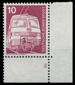 BRD DS INDUSTRIE U. TECHNIK Nr 847 postfrisch FORMNUMME 92F92A