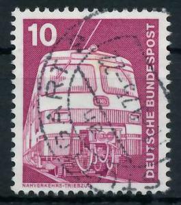 BRD DS INDUSTRIE U. TECHNIK Nr 847 gestempelt 92F92E