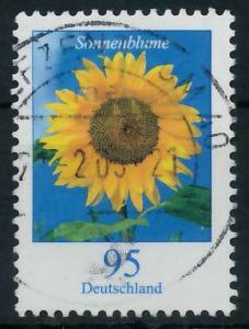 BRD DS BLUMEN Nr 2434 zentrisch gestempelt 92FBD6