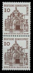 BERLIN DS D-BAUW. 1 Nr 242 postfrisch SENKR PAAR 92FE32