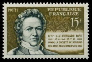 FRANKREICH 1957 Nr 1174 postfrisch S027CFA