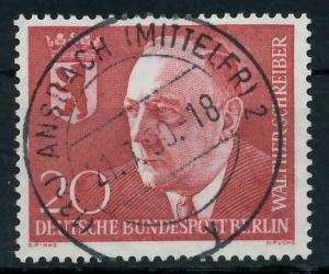 BERLIN 1960 Nr 192 zentrisch gestempelt 936732