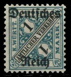 DEUTSCHES REICH DIENSTMARKEN 1920 Nr 64 ungebraucht 939F76