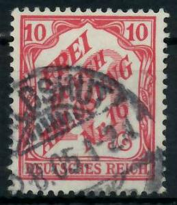DEUTSCHES REICH DIENSTMARKEN 1903 05 Nr 12 gestempelt 939F82
