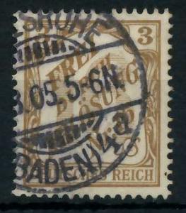 DEUTSCHES REICH DIENSTMARKEN 1903 05 Nr 10 gestempelt 939F8A