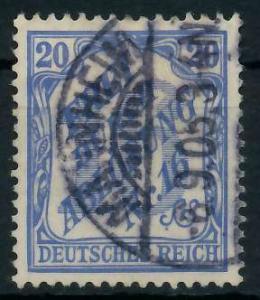DEUTSCHES REICH DIENSTMARKEN 1903 05 Nr 13 gestempelt 939F92