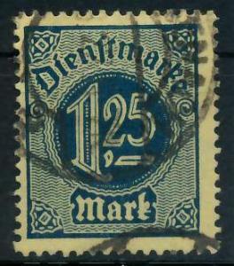 DEUTSCHES REICH DIENSTMARKEN 1920 Nr 31 gestempelt 939F9E