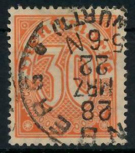 DEUTSCHES REICH DIENSTMARKEN 1920 Nr 27 gestempelt 939FAE