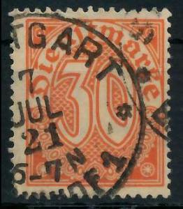 DEUTSCHES REICH DIENSTMARKEN 1920 Nr 27 gestempelt 939FBE