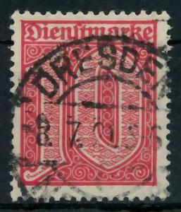 DEUTSCHES REICH DIENSTMARKEN 1920 Nr 24 gestempelt 939FCE