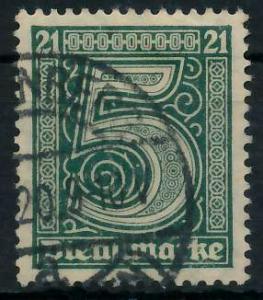 DEUTSCHES REICH DIENSTMARKEN 1920 Nr 16 gestempelt 939FD2