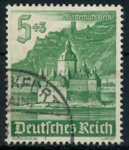 DEUTSCHES REICH 1940 Nr 753 gestempelt 93A012