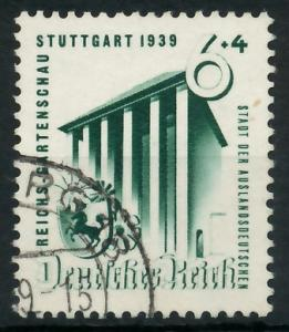 DEUTSCHES REICH 1939 Nr 692 gestempelt 93A01E