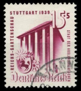 DEUTSCHES REICH 1939 Nr 693 gestempelt 93A01A