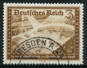 DEUTSCHES REICH 1939 Nr 702 gestempelt 93A016