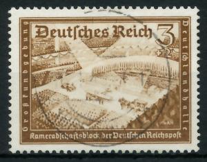 DEUTSCHES REICH 1939 Nr 702 zentrisch gestempelt 93A022