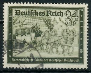 DEUTSCHES REICH 1939 Nr 712 gestempelt 93A02E