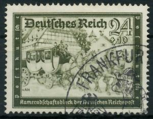 DEUTSCHES REICH 1939 Nr 712 gestempelt 93A036