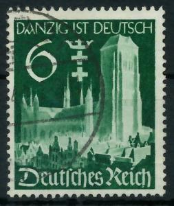 DEUTSCHES REICH 1939 Nr 714 gestempelt 93A02A