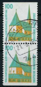 BRD ZUSAMMENDRUCK Nr 1406C+1406D zentrisch gestempelt SENKR 93A472