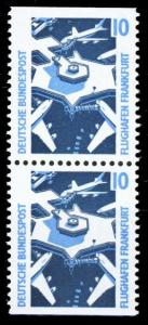 BRD ZUSAMMENDRUCK Nr 1347Cv+1347Dv postfrisch SENKR PAA S9A3EEE