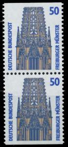 BRD ZUSAMMENDRUCK Nr 1340Cu+1340Du postfrisch SENKR PAA 93A50A