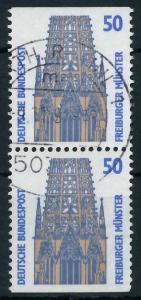 BRD ZUSAMMENDRUCK Nr 1340C + 1340D zentrisch gestempelt SENK 93A572