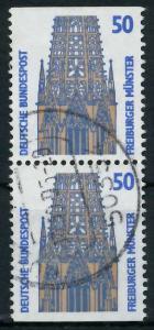 BRD ZUSAMMENDRUCK Nr 1340C + 1340D zentrisch gestempelt SENK 93A576